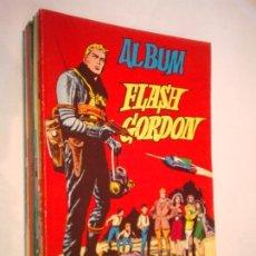Tebeos: ALBUM FLASH GORDON - COMPLETA - 8 ALBUM - EDITORIAL VALENCIANA - MUY BUEN ESTADO - GORBAUD. Lote 243794765