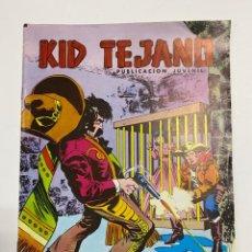 Tebeos: KID TEJANO. Nº 25 - LA JAULA DE ORO. COLOSOS DEL COMIC. EDITORA VALENCIANA. Lote 244005890