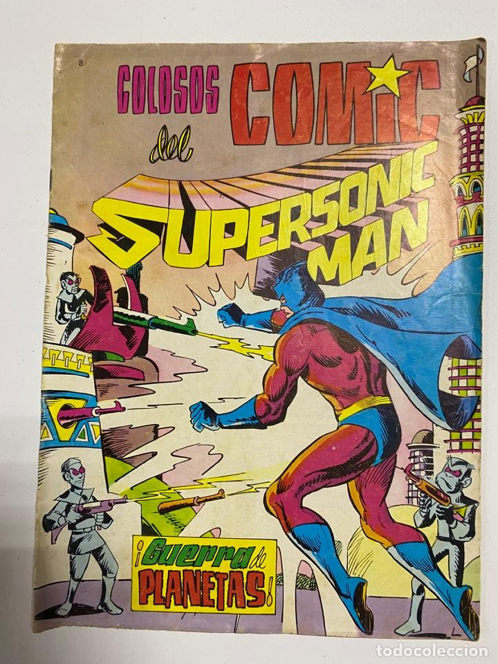 COLOSOS DEL COMIC. SUPERSONIC MAN. Nº 8 - ¡GUERRA DE PLANES!. EDITORA VALENCIANA (Tebeos y Comics - Valenciana - Colosos del Comic)