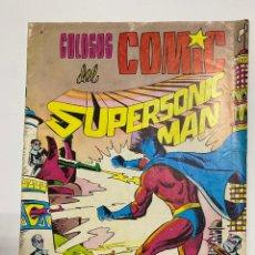 Tebeos: COLOSOS DEL COMIC. SUPERSONIC MAN. Nº 8 - ¡GUERRA DE PLANES!. EDITORA VALENCIANA. Lote 244006690