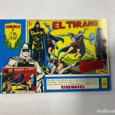 Tebeos: EL GUERRERO DEL ANTIFAZ. Nº 12 - EL TIRANO. EDITORA VALENCIANA.. Lote 244493445