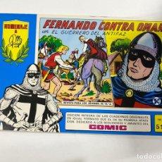 Tebeos: EL GUERRERO DEL ANTIFAZ. Nº 51 - FERNANDO CONTRA OMAR CON EL GUERRERO DEL ANTIFAZ.EDITORA VALENCIANA. Lote 244493530