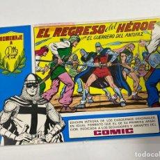 Tebeos: EL GUERRERO DEL ANTIFAZ. Nº 42 - EL REGRESO DEL HÉROE. EDITORA VALENCIANA.. Lote 244493830