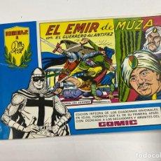 Tebeos: EL GUERRERO DEL ANTIFAZ. Nº 84 - EL EMIR DE MUZA. EDITORA VALENCIANA.. Lote 244494545