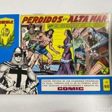 Tebeos: EL GUERRERO DEL ANTIFAZ. Nº 40 - PERDIDOS EN ALTA MAR. EDITORA VALENCIANA.. Lote 244494725