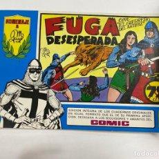 Tebeos: EL GUERRERO DEL ANTIFAZ. Nº 4 - FUGA DESESPERADA. EDITORA VALENCIANA.. Lote 244494800