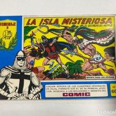 Tebeos: EL GUERRERO DEL ANTIFAZ. Nº 60 - LA ISLA MISTERIOSA. EDITORA VALENCIANA.. Lote 244494890