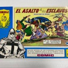 Tebeos: EL GUERRERO DEL ANTIFAZ. Nº 53 - EL ASALTO DE LOS ESCLAVOS. EDITORA VALENCIANA.. Lote 244495580