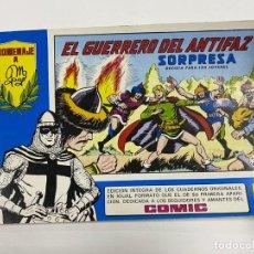 Tebeos: EL GUERRERO DEL ANTIFAZ. Nº 93 - EL GUERRERO DEL ANTIFAZ SORPRESA. EDITORA VALENCIANA.. Lote 244495790