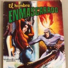 """Tebeos: EL HOMBRE ENMASCARADO """"PASIÓN POR LA MUERTE"""" N 23 J.L.BLUME. Lote 244529300"""