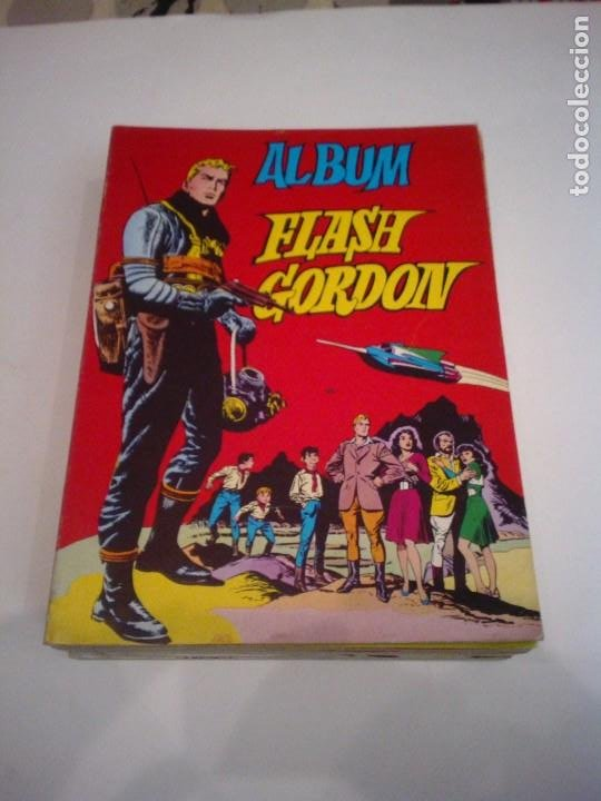 ALBUM FLASH GORDON - COLECCIÓN COMPLETA - 8 ALBUM - ED VALENCIANA - BUEN ESTADO - CJ 106 - GORBAUD (Tebeos y Comics - Valenciana - Otros)
