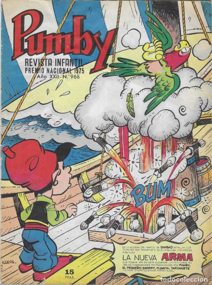 PUMBY Nº 968 (Tebeos y Comics - Valenciana - Pumby)