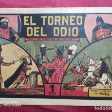 Tebeos: EL GUERRERO DEL ANTIFAZ . Nº 4. EL TORNEO DEL ODIO . VALENCIANA . ORIGINAL. Lote 244710965