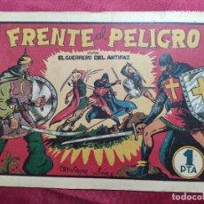 Tebeos: FRENTE AL PELIGRO CON EL GUERRERO DEL ANTIFAZ . Nº 5. VALENCIANA . ORIGINAL. Lote 244711465