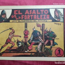 Tebeos: EL ASALTO DE LA FORTALEZA CON EL GUERRERO DEL ANTIFAZ . Nº 6. VALENCIANA . ORIGINAL. Lote 244713095