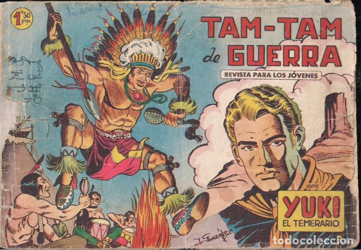 YUKI EL TEMERARIO Nº 2: TAM-TAM DE GUERRA (Tebeos y Comics - Valenciana - Otros)