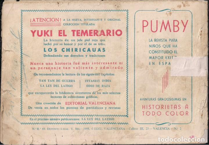 Tebeos: YUKI EL TEMERARIO Nº 2: TAM-TAM DE GUERRA - Foto 2 - 244713150