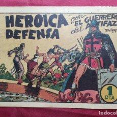 Tebeos: HEROICA DEFENSA CON EL GUERRERO DEL ANTIFAZ . Nº 7. VALENCIANA . ORIGINAL. Lote 244713890