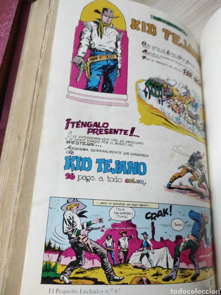Tebeos: Colección completa cómics tebeos El pequeño luchador selección Edival aventurera 87 tebeos - Foto 3 - 244716555