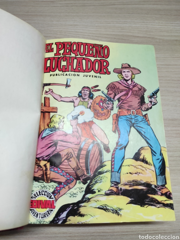 Tebeos: Colección completa cómics tebeos El pequeño luchador selección Edival aventurera 87 tebeos - Foto 4 - 244716555