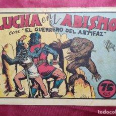 Giornalini: LUCHA EN EL ABISMO CON EL GUERRERO DEL ANTIFAZ . Nº 17. VALENCIANA . ORIGINAL. Lote 244764555