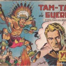 Tebeos: YUKI EL TEMERARIO Nº 2: TAM-TAM DE GUERRA. Lote 244872455