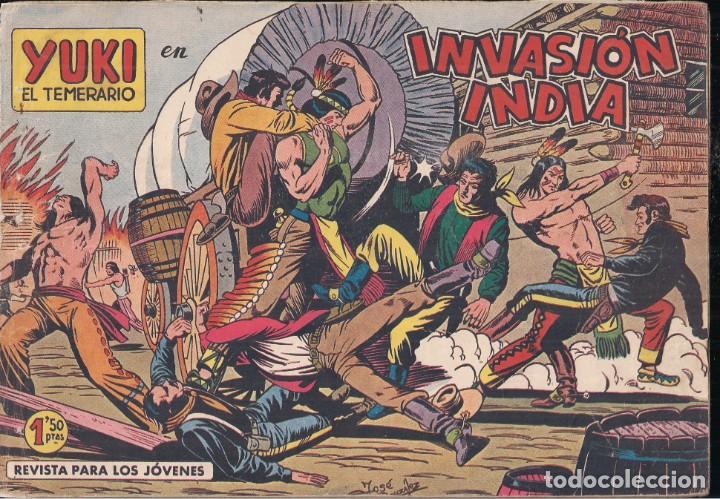 YUKI EL TEMERARIO Nº 4: INVASIÓN INDIA (Tebeos y Comics - Valenciana - Otros)