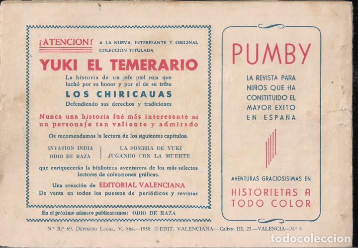 Tebeos: YUKI EL TEMERARIO Nº 4: INVASIÓN INDIA - Foto 2 - 244872715