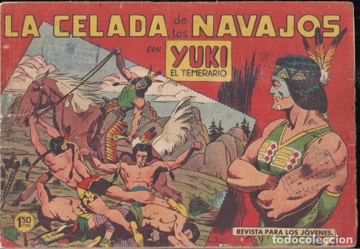 YUKI EL TEMERARIO Nº 10: LA CELADA DE LOS NAVAJOS (Tebeos y Comics - Valenciana - Otros)