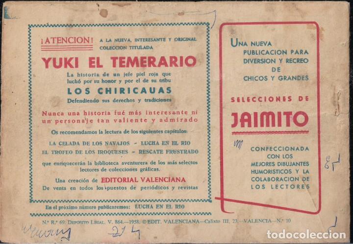 Tebeos: YUKI EL TEMERARIO Nº 10: LA CELADA DE LOS NAVAJOS - Foto 2 - 244874970