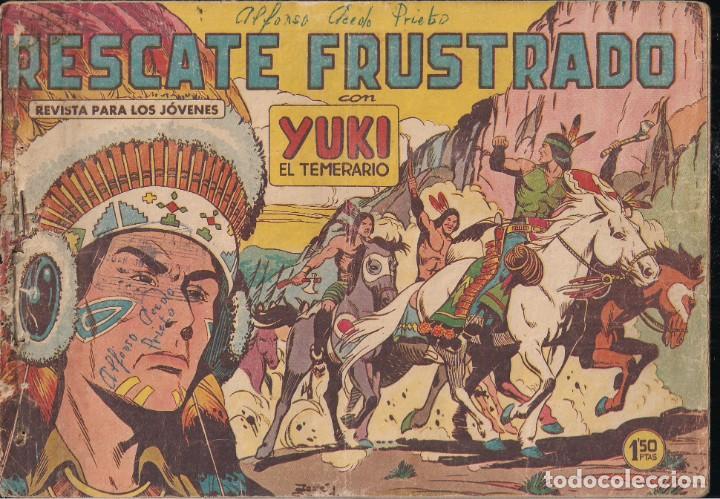 YUKI EL TEMERARIO Nº 13: RESCATE FRUSTRADO (Tebeos y Comics - Valenciana - Otros)