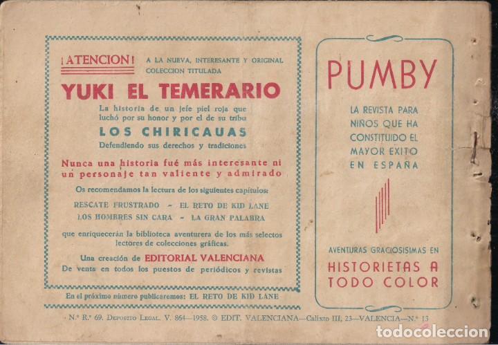 Tebeos: YUKI EL TEMERARIO Nº 13: RESCATE FRUSTRADO - Foto 2 - 244875405