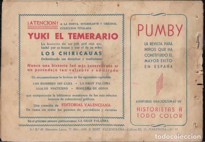 Tebeos: YUKI EL TEMERARIO Nº 15: LOS HOMBRES SIN CARA - Foto 2 - 244875710