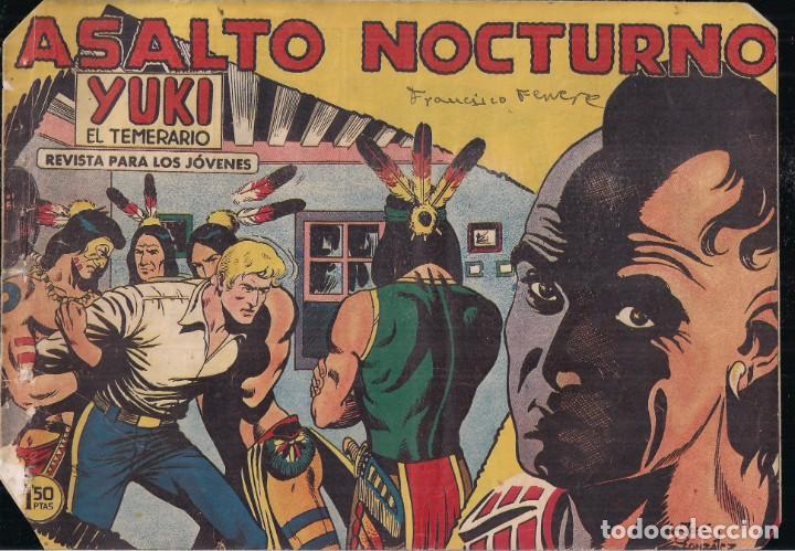 YUKI EL TEMERARIO Nº 17: ASALTO NOCTURNO (Tebeos y Comics - Valenciana - Otros)