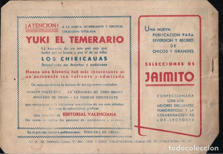 Tebeos: YUKI EL TEMERARIO Nº 17: ASALTO NOCTURNO - Foto 2 - 244876375