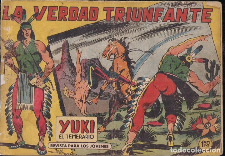 YUKI EL TEMERARIO Nº 20: LA VERDAD TRIUNFANTE (Tebeos y Comics - Valenciana - Otros)