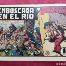 Tebeos: EMBOSCADA EN EL RIO CON EL GUERRERO DEL ANTIFAZ . Nº 44. VALENCIANA . ORIGINAL. Lote 244937760