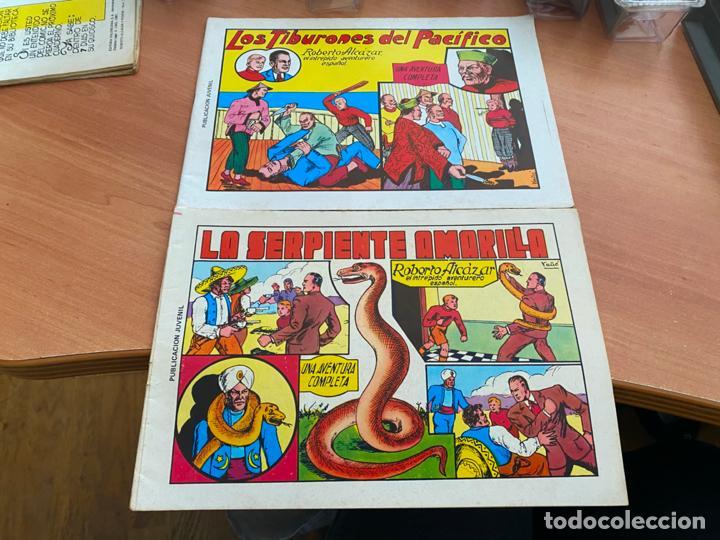 Tebeos: ROBERTO ALCAZAR Y PEDRIN LOTE 139 EJEMPLARES EDICIÓN 1981 A 1984 (HAB) - Foto 4 - 245004115