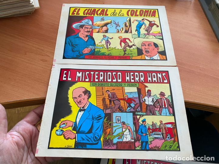 Tebeos: ROBERTO ALCAZAR Y PEDRIN LOTE 139 EJEMPLARES EDICIÓN 1981 A 1984 (HAB) - Foto 13 - 245004115