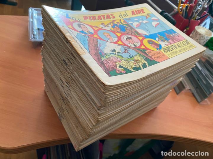 ROBERTO ALCAZAR Y PEDRIN LOTE 139 EJEMPLARES EDICIÓN 1981 A 1984 (HAB) (Tebeos y Comics - Valenciana - Roberto Alcázar y Pedrín)