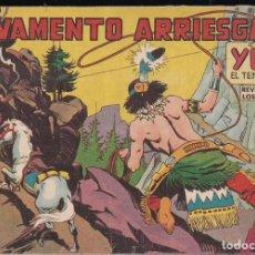 Tebeos: YUKI EL TEMERARIO Nº 38: SALVAMENTO ARRIESGADO. Lote 245062045