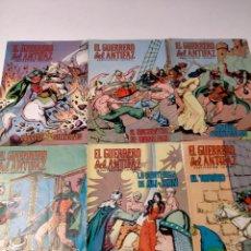 Tebeos: LOTE DE 12 CÓMICS EL GUERRERO DEL ANTIFAZ EDIVAL. Lote 245074650