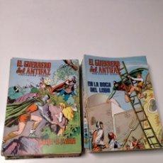 Livros de Banda Desenhada: LOTE DE 53 CÓMICS EL GUERRERO DEL ANTIFAZ EDIVAL. Lote 245083480