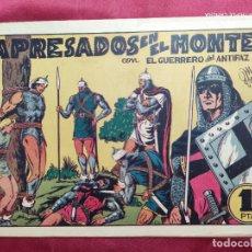 Tebeos: APRESADOS EN EL MONTE CON EL GUERRERO DEL ANTIFAZ . Nº 46. VALENCIANA . ORIGINAL. Lote 245105050