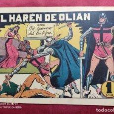 Tebeos: EL HARÉN DE OLIÁN CON EL GUERRERO DEL ANTIFAZ . Nº 47. VALENCIANA . ORIGINAL. Lote 245106605