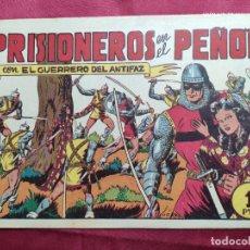 Tebeos: PRISIONEROS EN EL PEÑON CON EL GUERRERO DEL ANTIFAZ . Nº 49. VALENCIANA . ORIGINAL. Lote 245110560