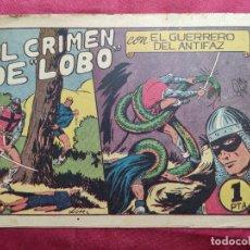 Tebeos: EL CRIMEN DEL LOBO CON EL GUERRERO DEL ANTIFAZ . Nº 52. VALENCIANA . ORIGINAL. Lote 245115690