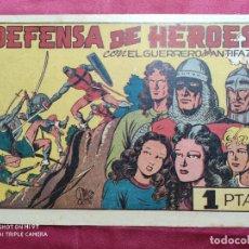 Tebeos: DEFENSA DE HEROES CON EL GUERRERO DEL ANTIFAZ . Nº 54. VALENCIANA . ORIGINAL. Lote 245120980