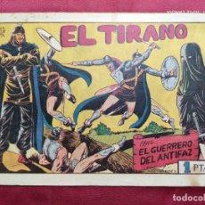 Tebeos: EL TIRANO CON EL GUERRERO DEL ANTIFAZ . Nº 56. VALENCIANA . ORIGINAL. Lote 245123050