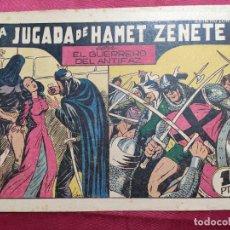 Tebeos: LA JUGADA DE HAMET ZENETE CON EL GUERRERO DEL ANTIFAZ . Nº 58. VALENCIANA . ORIGINAL. Lote 245127545